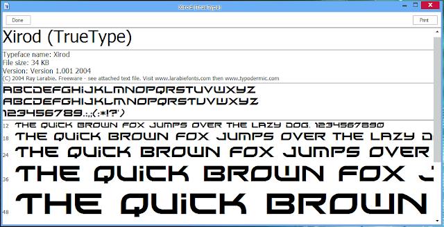 750 Font Keren Gratis Untuk Windows
