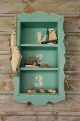 Tiapepa Restyling wall cabinet in chalk paint