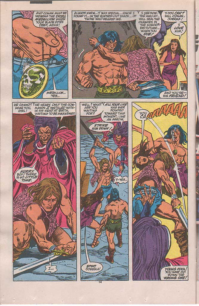 Conan the Barbarian (1970) Issue #240 #252 - English 11