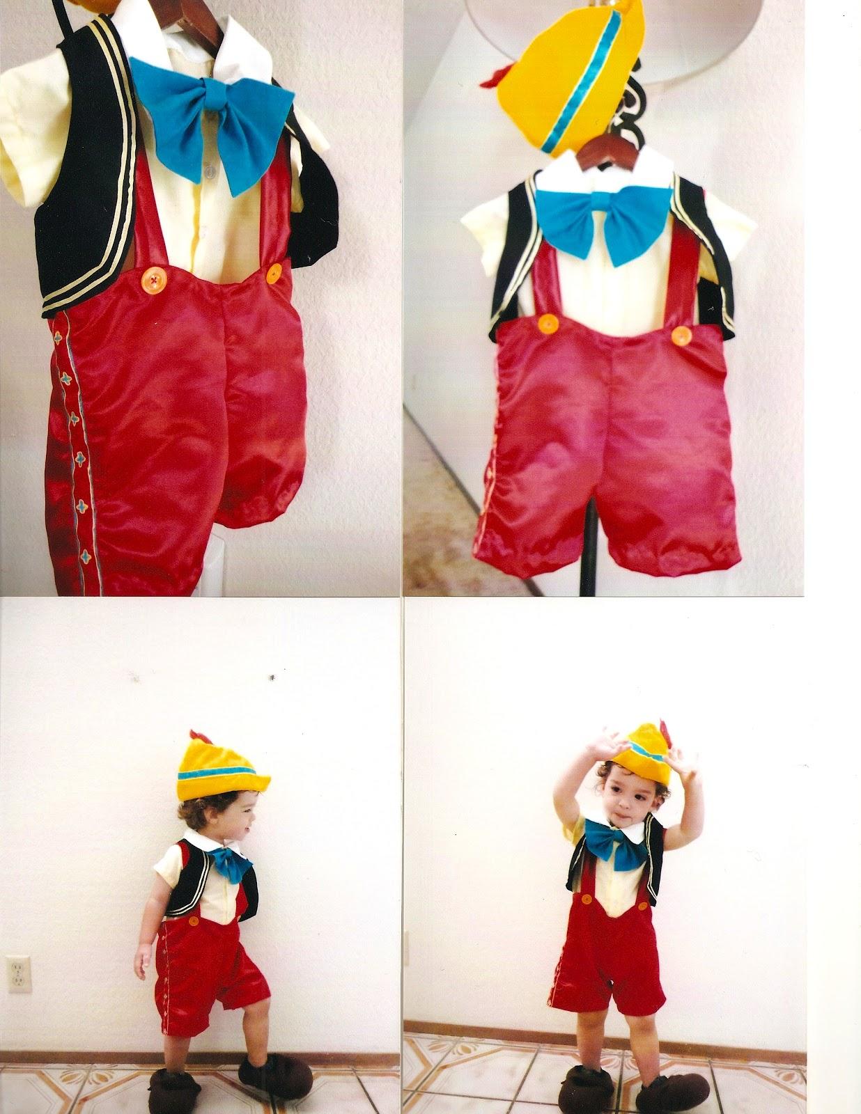 Новогодний костюм Буратино своими руками 58