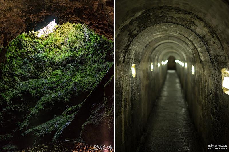 Algar do Carvão e acesso à Gruta do Natal, Terceira