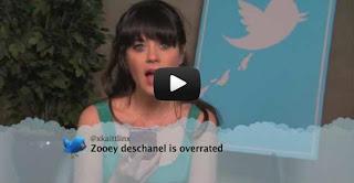 Celebrities Reading Tweets, Celebrities Reading Video