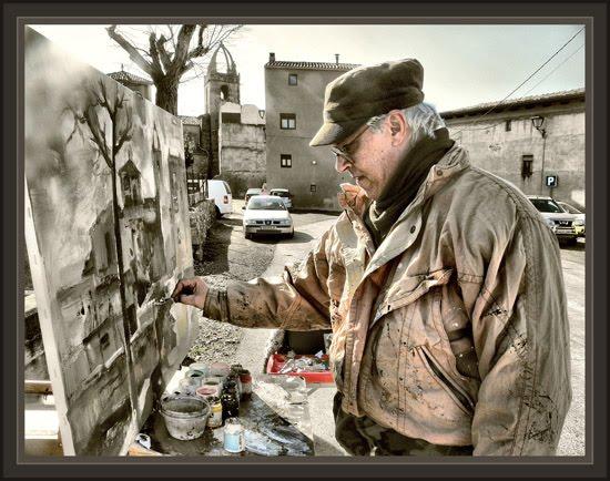 Ernest descals artista pintor sant fuitos de bages - Pintur sant fruitos ...
