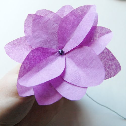 here is another great tissue paper flower you can make complete with ...