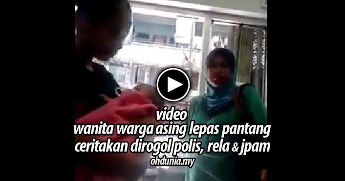 Video: Wanita Lepas Pantang Ceritakan Dirogol Polis, JPAM, RELA
