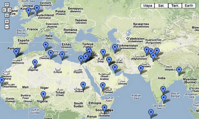la proxima guerra mapa protestas paises musulmanes pelicula mahoma