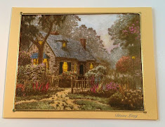 Thomas Kinkade Rubber Stamp Article, Stampers Quest