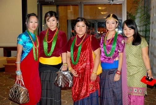 Nepali Gurung Dress Traditional dresses available in nepalese fashion ...
