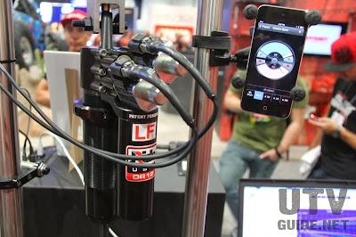 JRide Smartphone Adjustable Shock System
