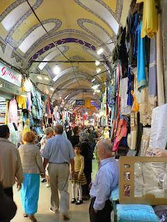 Bazaar in Istanbul, Turkey