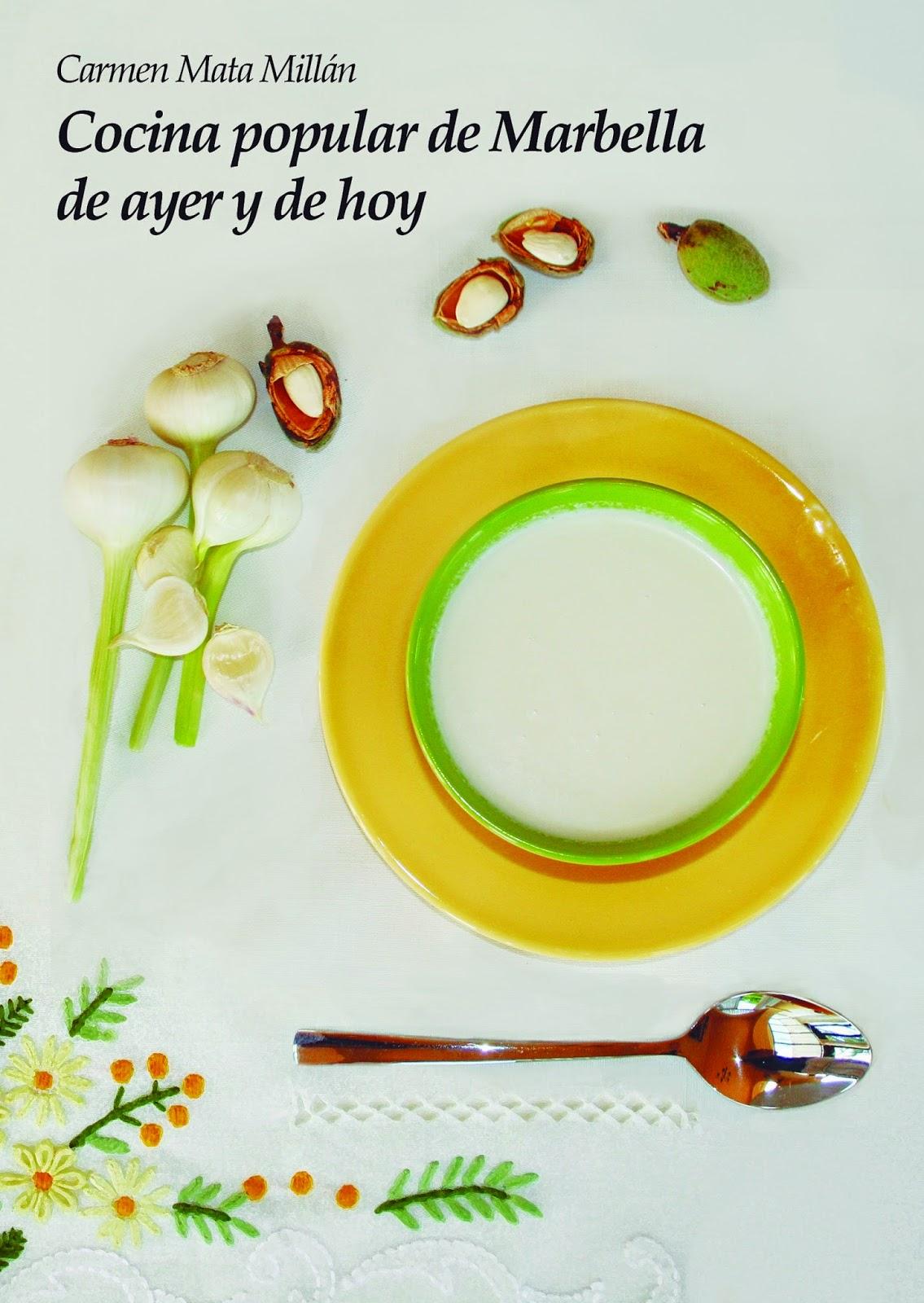 Adquiere mi libro Cocina popular de Marbella