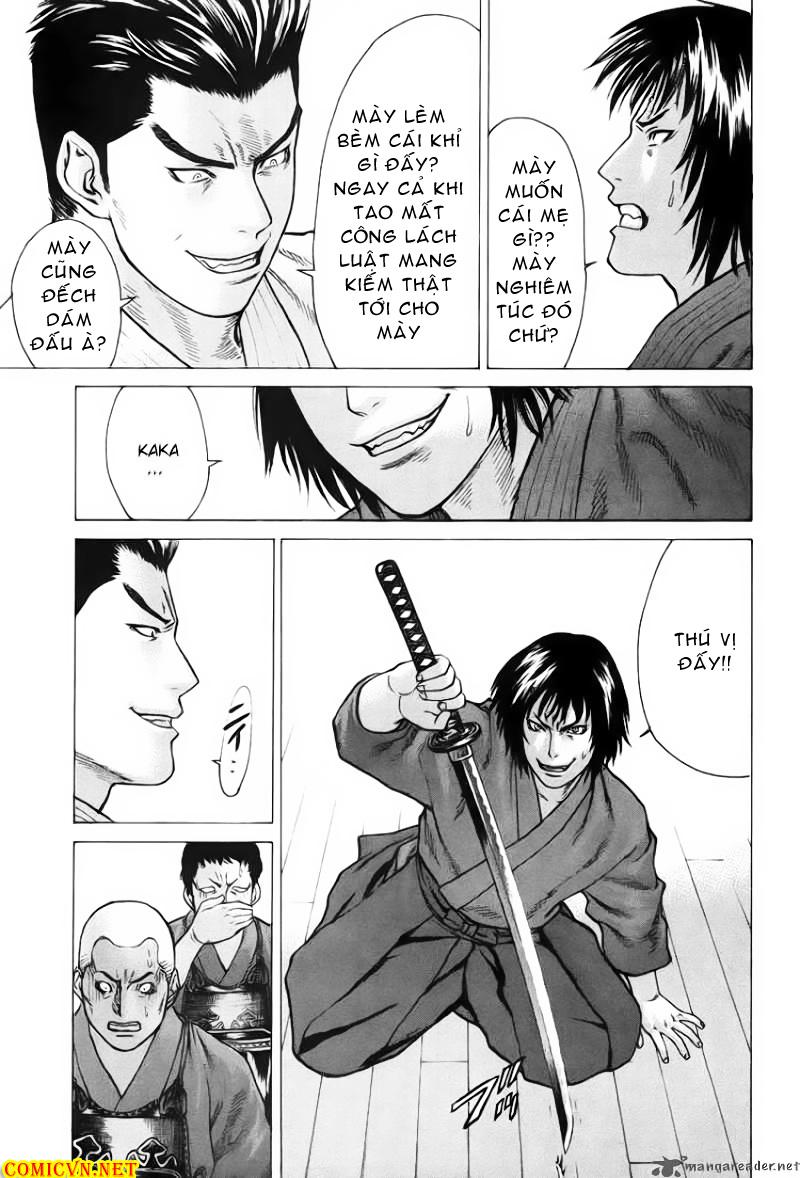 Karate Shoukoushi Kohinata Minoru chap 27 Trang 10