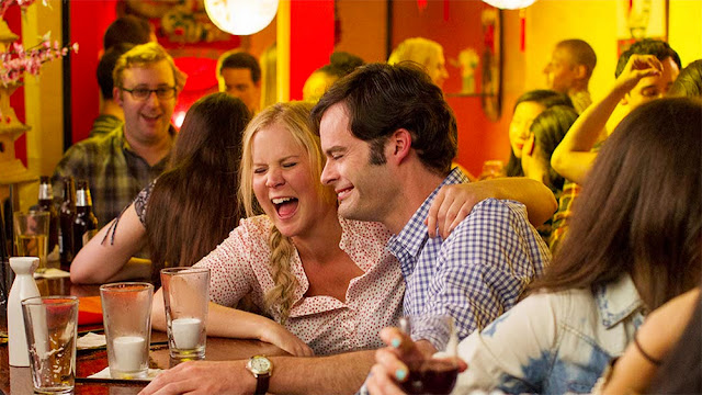 "Amy Schumer and Bill Hader find love in ""Trainwreck"""