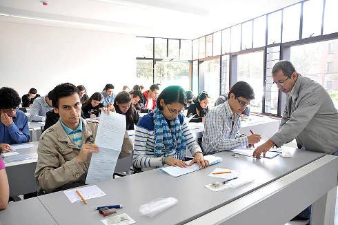Pruebas de admisión UN 2014