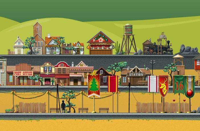 Train Station game