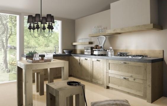 Hoe Eiken Keuken Schilderen : interieur huis Luxe keuken volgens trend 2011