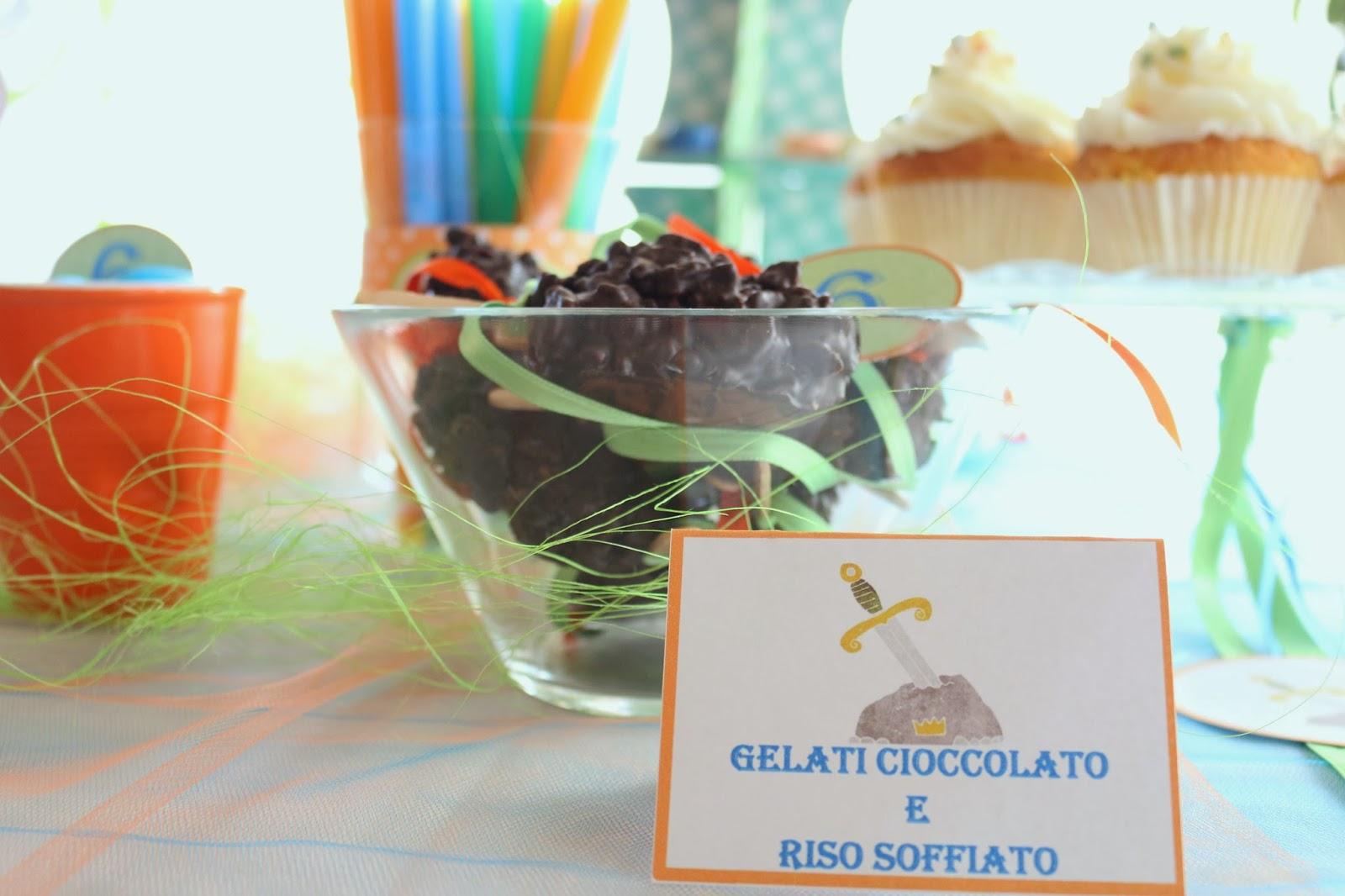 gelati di cioccolato