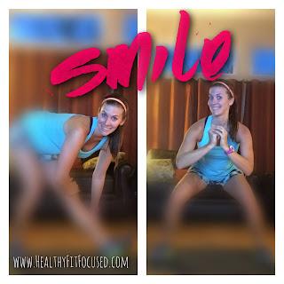 SMILE!   Chalean Extreme & TurboFire, New Focus,  Women's fitness journey, www.HealthyFitFocused.com