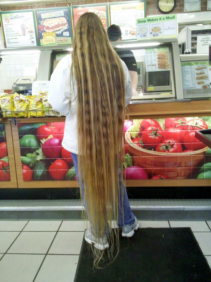 Hair Flooring The Longest Of Long Hair The HairCut Web