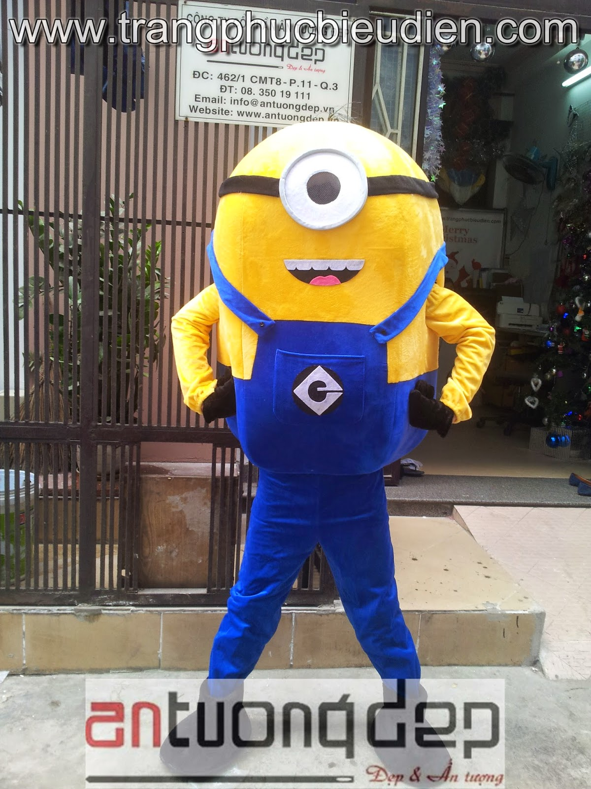 may bán cho thuê mascot minion