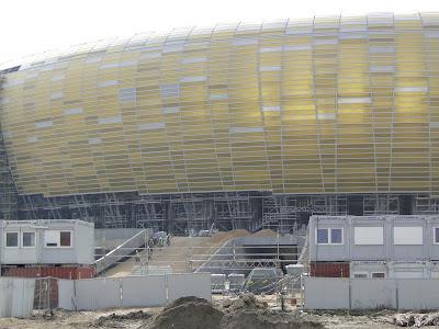 Płyty z poliwęglanu Baltic Arena