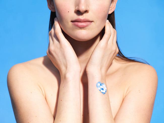 My UV Patch - adesivo para pele que mede e monitora a exposição aos raios ultravioletas