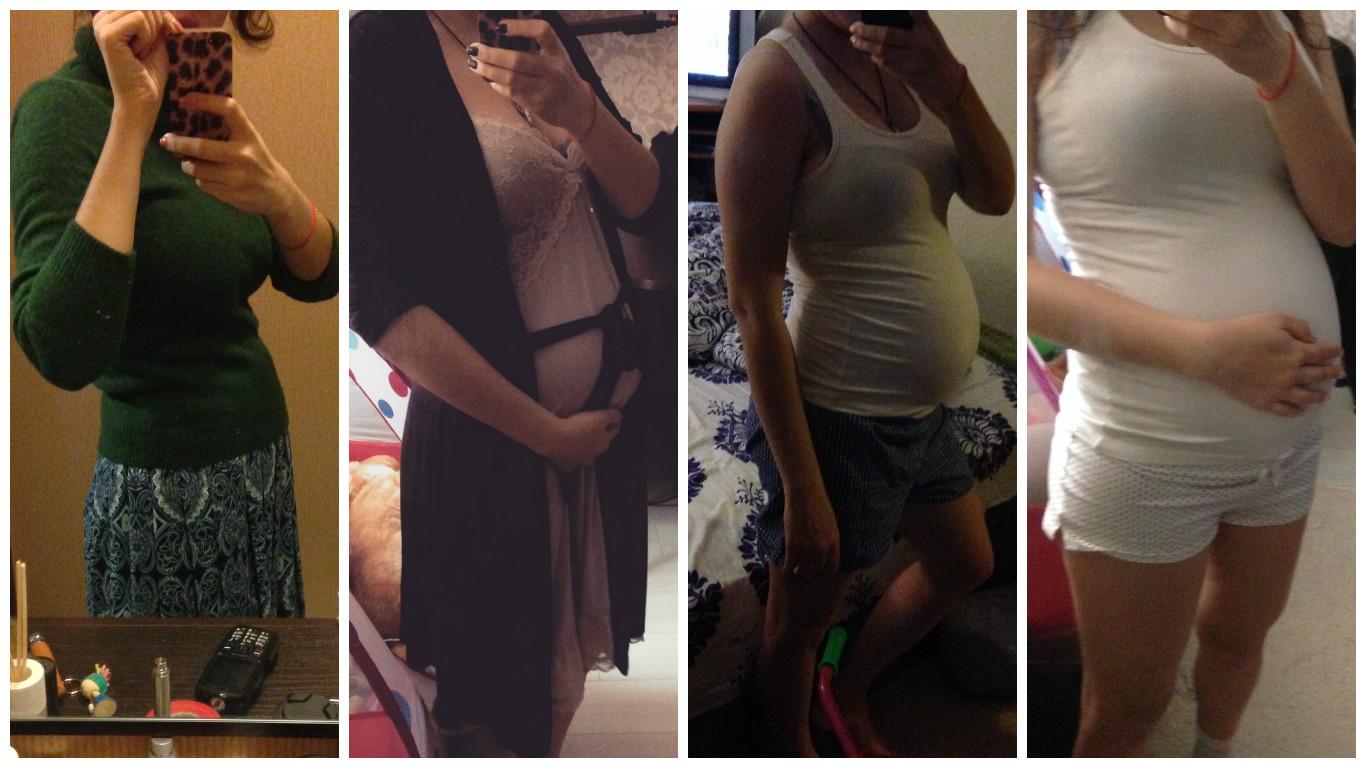 Как скрыть беременный животик 92