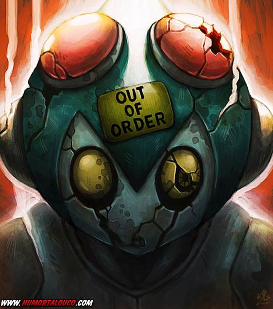 18 animações do mundo dos vídeos games e desenhos - Out of Order