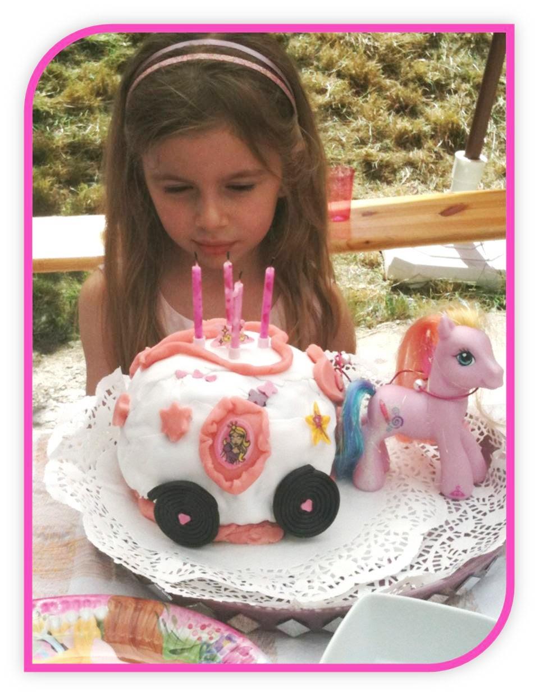Le gâteau  carosse de Princesse Tiffany !
