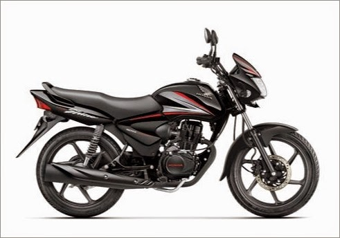 Honda Shine Black Color