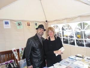 Stand de poesía con Inma Arrabal