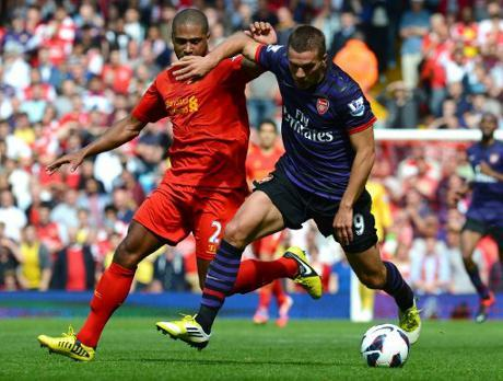 Foto Pertandingan Liverpool Vs Arsenal