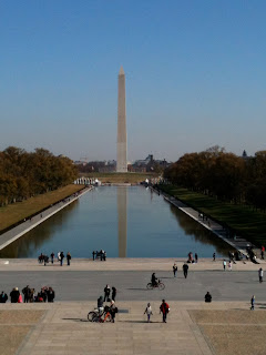 Reflection Pool and Washington Memorial