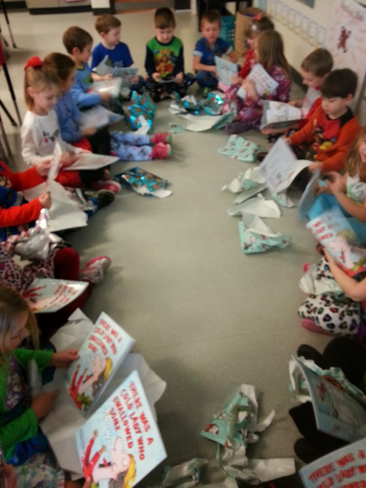 Christmas gift idea for kindergarten class