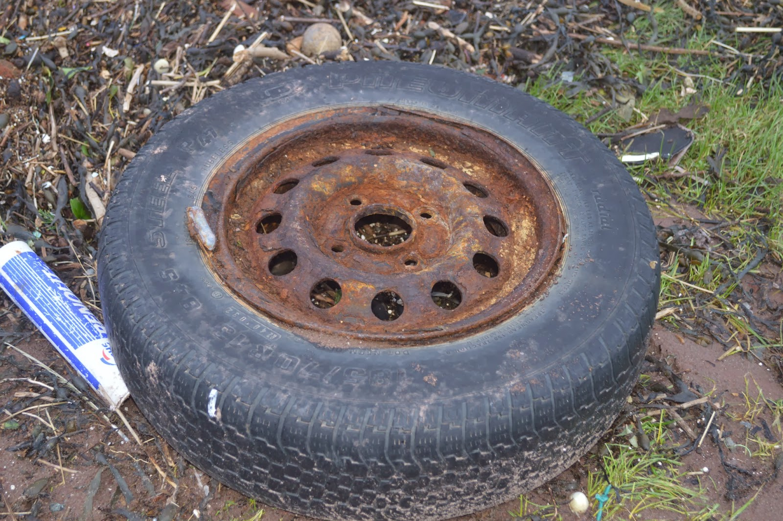 Country Kids Gelliswick Beach The Fort Hakin Milford Haven tyre