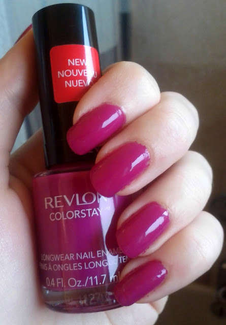 Revlon ColorStay Long Wear Nail Enamel in Rich Raspberry