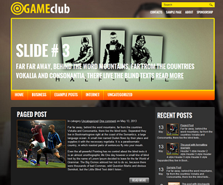 gameclub_blogger_Template