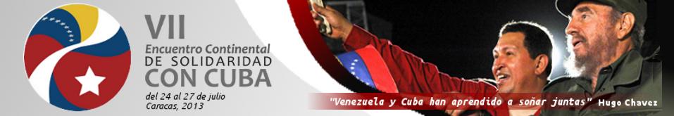 VII Encontro Continental de Solidariedade com Cuba