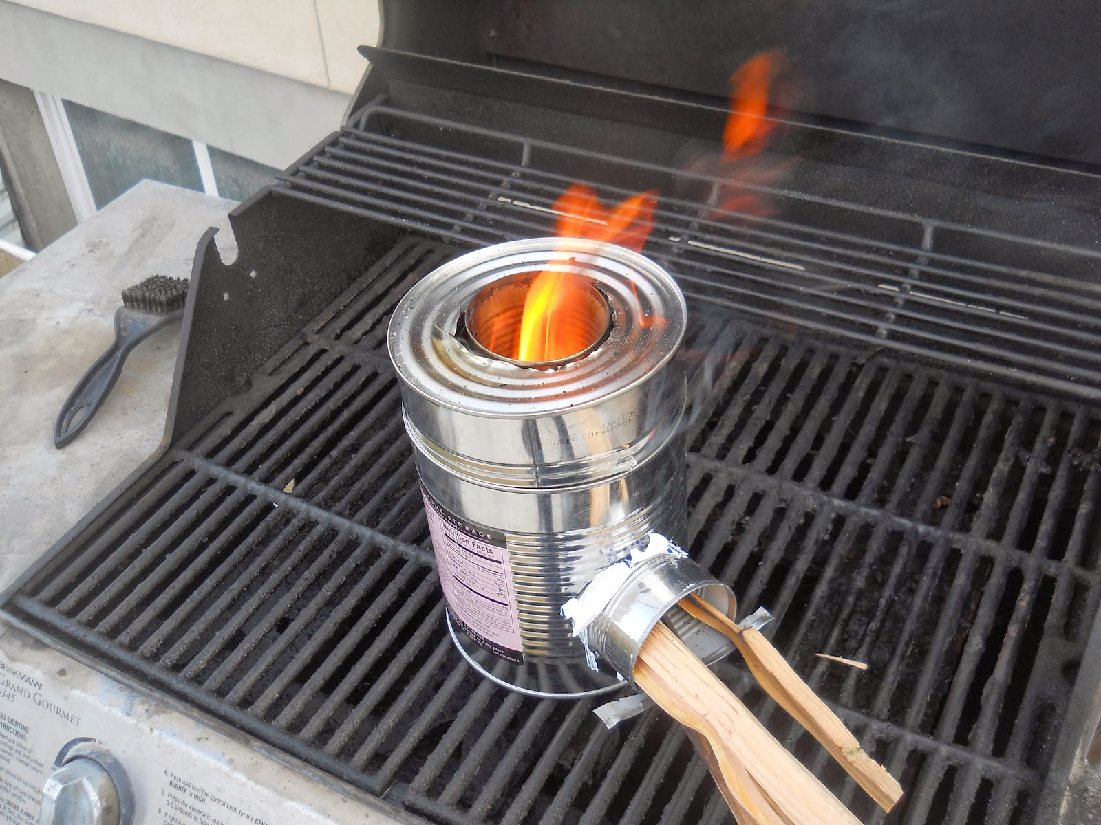 Bring back the farm how to build a rocket stove for Make a rocket stove