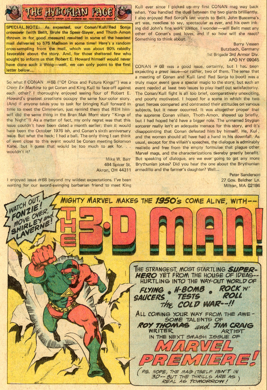 Conan the Barbarian (1970) Issue #72 #84 - English 21
