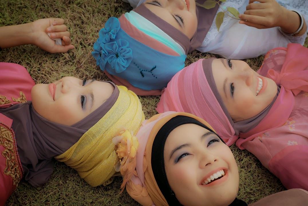 tutorial make up untuk penampilan muslimah