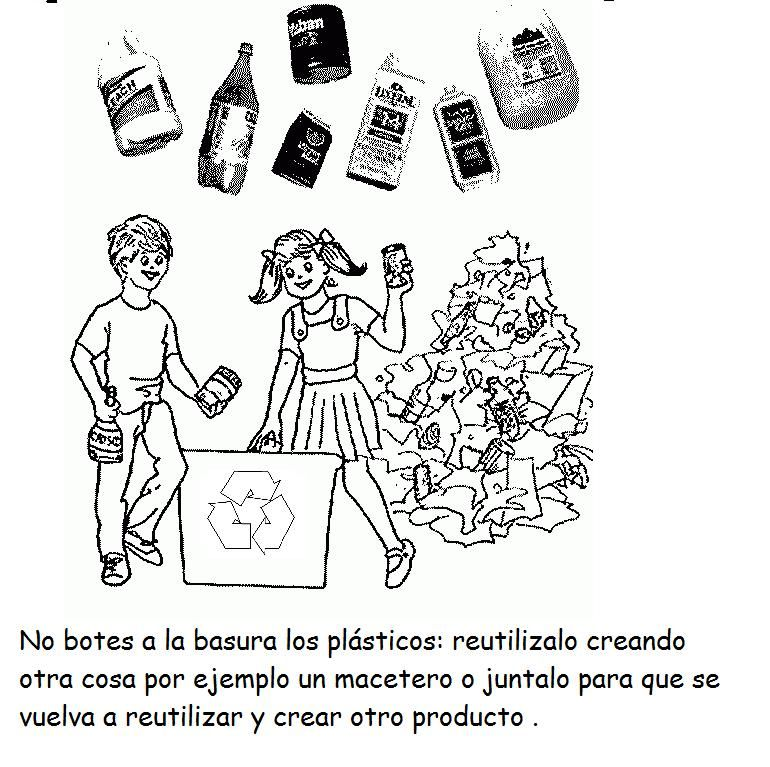 Lectura de cuentos con temas de reciclajes, pueden leerlos o