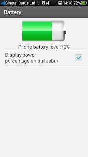 Oppo Find 5 Battery Info