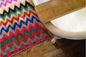 tapis boucherouite vintage