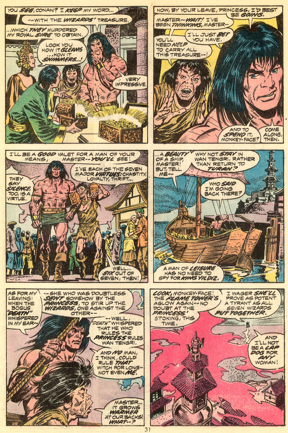 Conan the Barbarian (1970) Issue #34 #46 - English 19