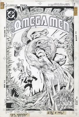 Boceto de Omega Men #24