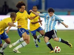 Ver Online Argentina y Brasil en el Clásico de las Américas / Partido Amistoso (HD)