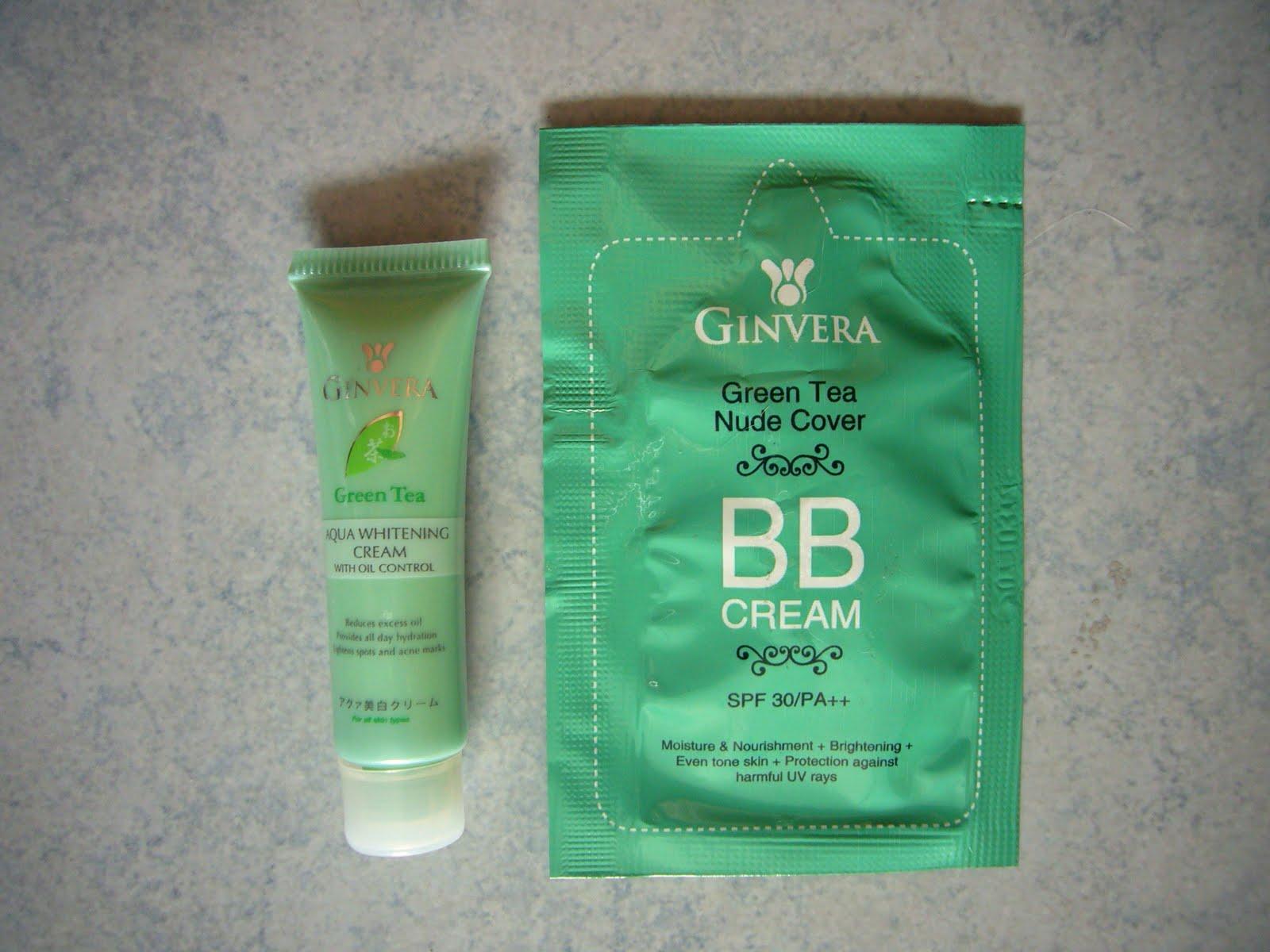 sparklyvodka: Ginvera Green Tea Nude Cover BB Cream SPF 30