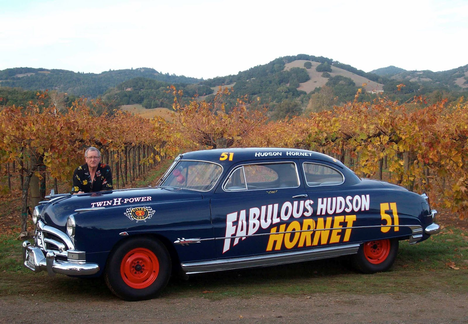 real hudson hornet cool pix pinterest