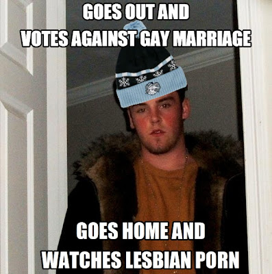 Scumbag Steve Meme: North Carolina Gay Marriage